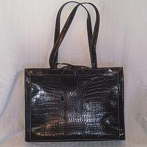 Liz Claiborne black purse tote..